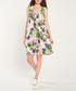 Multi-colour floral print shift dress Sale - dioxide Sale
