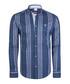 Blue stripe pure cotton shirt Sale - felix hardy Sale
