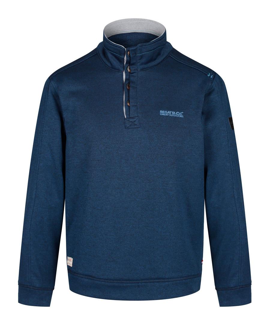 Captain blue zip-neck fleece Sale - regatta