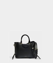 Blakely Medium black leather tote