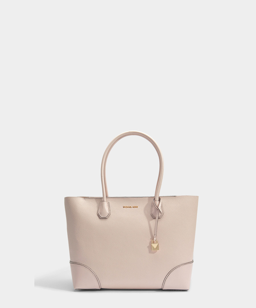 Mercer Gallery Large pink leather tote Sale - michael michael kors