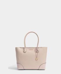 Mercer Gallery Large pink leather tote