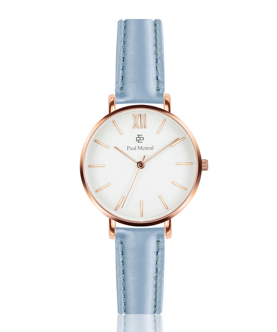 powder blue calf leather watch Sale - Paul McNeal