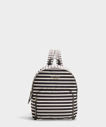 Watson Lane Hartley stripe nylon backpack