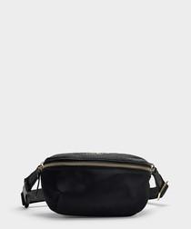 Watson Lane Betty black nylon belt bag