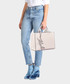 K/Signature rose smooth leather shopper Sale - KARL LAGERFELD Sale