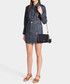 K/Karry black leather shoulder bag Sale - KARL LAGERFELD Sale
