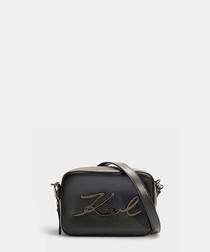 K/Signature black & grey camera bag