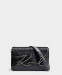 K/Signature midnight luxe shoulder bag