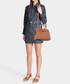 Mini Sun brown Calfskin grab bag Sale - Mansur Gavriel Sale