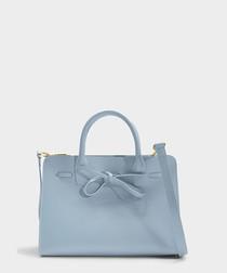 Mini Sun blue Calfskin grab bag