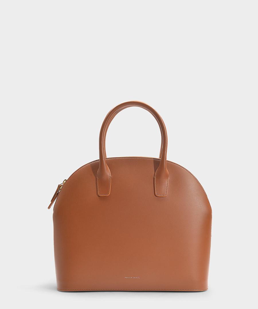 brown calfskin grab bag Sale - Mansur Gavriel