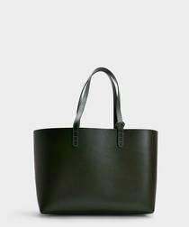 pine calfskin tote bag