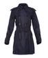 Women's dark indigo belted coat Sale - burberry Sale