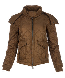 Women's military khaki jacket