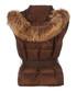 Women's brown padded gilet Sale - burberry Sale