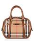 orchard canvas & leather grab bag Sale - burberry Sale