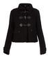 Women's black pure wool coat Sale - burberry Sale