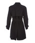 Women's dark grey pure cashmere coat Sale - burberry Sale