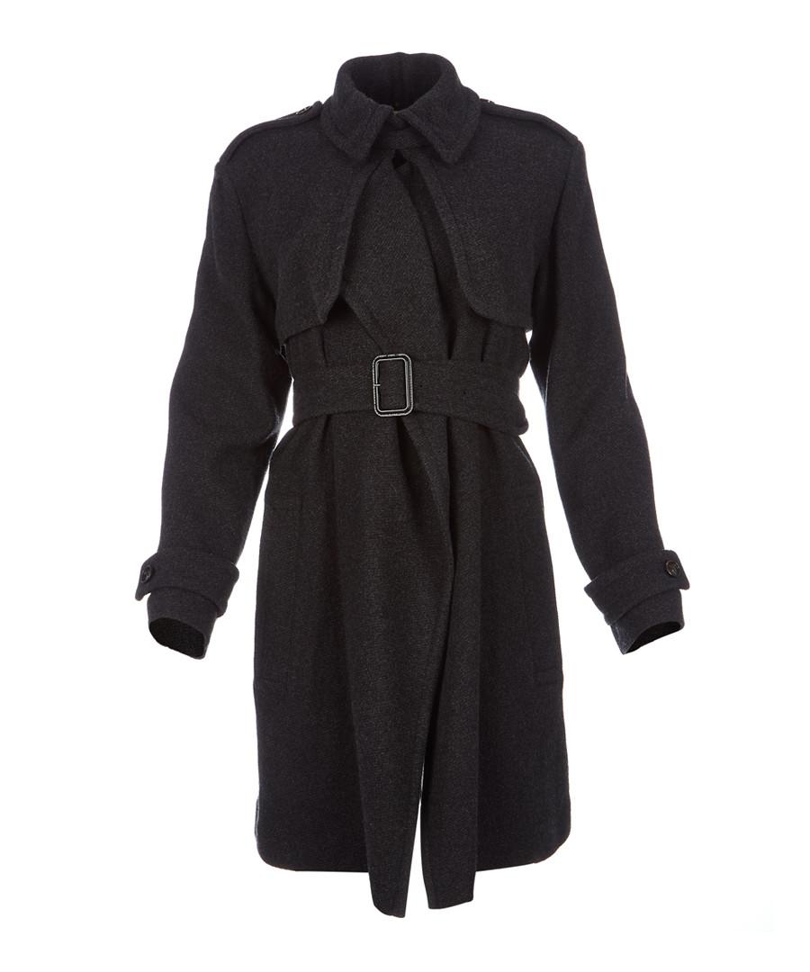 Women's dark grey pure cashmere coat Sale - burberry