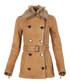 Women's dark trench lambskin coat Sale - burberry Sale