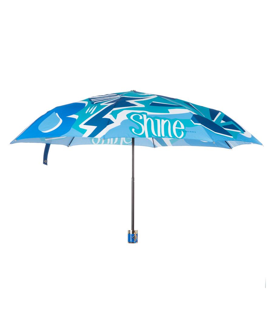 blue collage umbrella Sale - Burberry