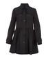 Women's black A-line coat Sale - burberry Sale