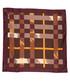 burgundy check pure silk scarf Sale - burberry Sale