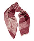 red check pure silk scarf Sale - burberry Sale