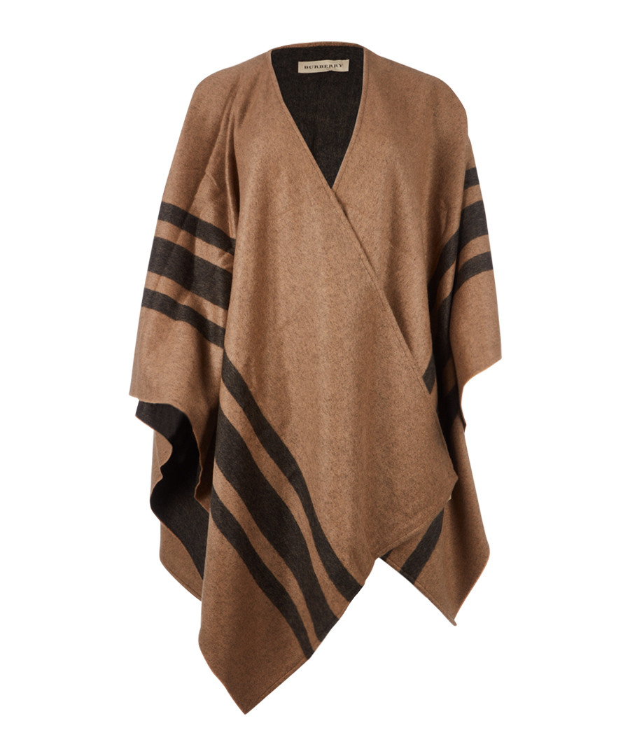 camel cashmere & merino stole Sale - burberry
