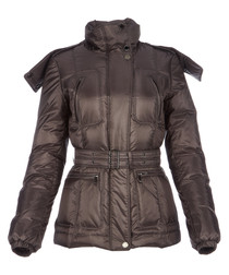 Women's pewter padded jacket