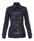 Women's navy belted jacket Sale - burberry Sale