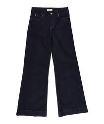 Women's true indigo cotton jeans