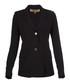 Women's black button jacket Sale - burberry Sale