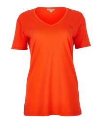 women's flame pure cotton T-shirt