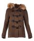 Women's peat pure wool toggle coat Sale - burberry Sale