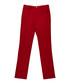 Men's red pure cotton trousers Sale - burberry Sale