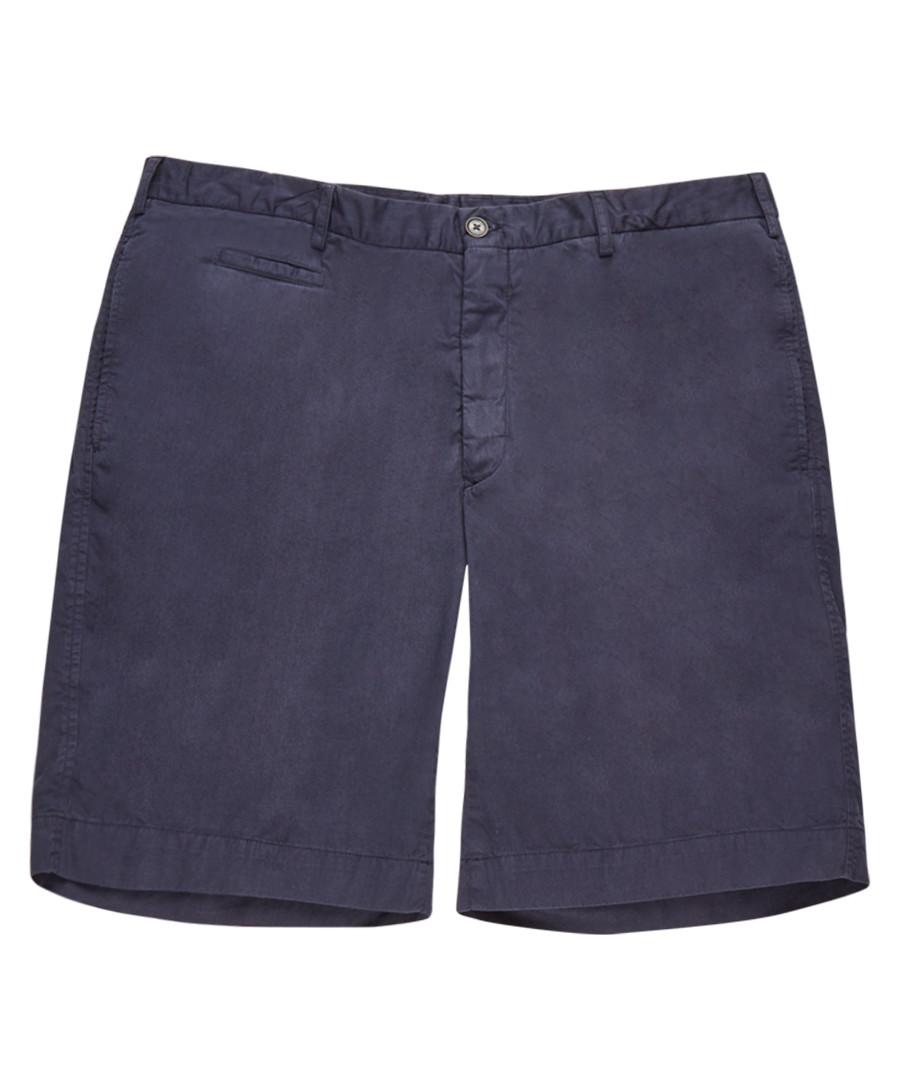 Men's blue pure cotton shorts Sale - burberry
