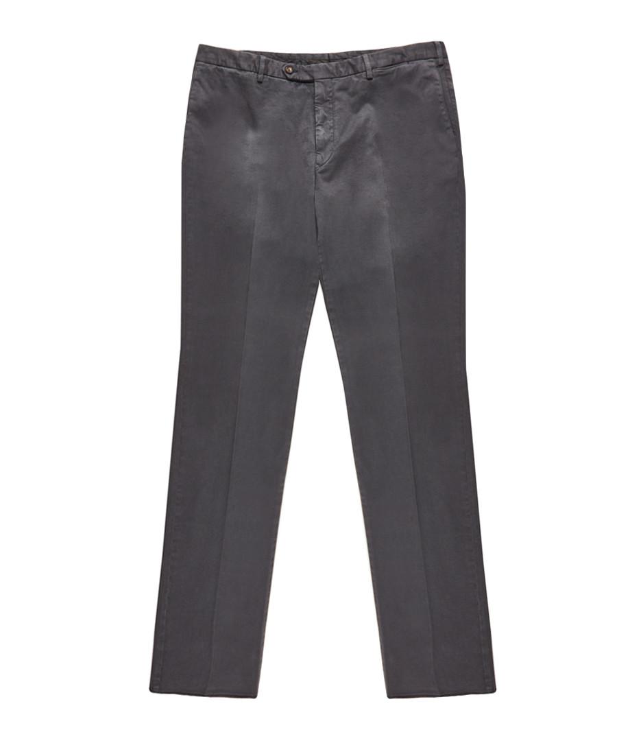 Men's grey cotton trousers Sale - burberry