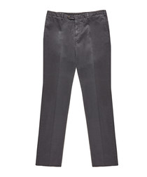 Men's grey cotton trousers
