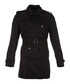 Men's black wool & cashmere belted coat Sale - burberry Sale