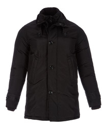 Men's black coat