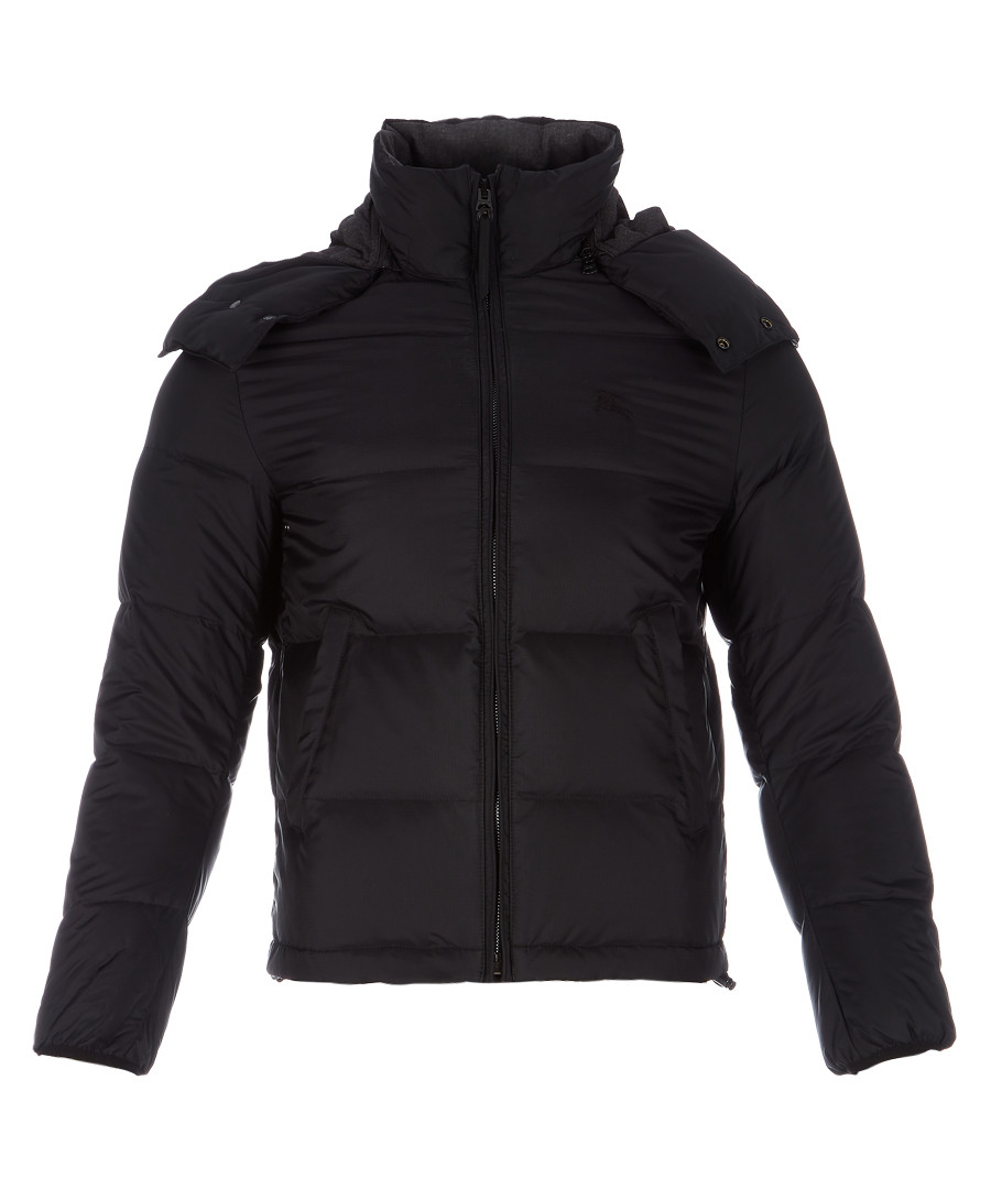 Men's black padded jacket Sale - burberry