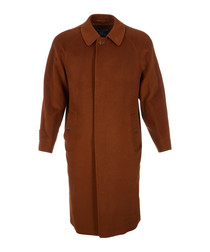 Men's cammello pure cashmere coat