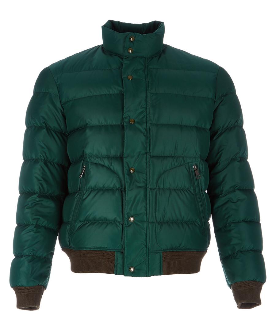 Men's racing green padded jacket Sale - burberry