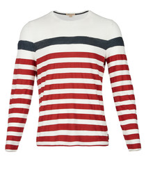 men's jeramiah cotton stripe top