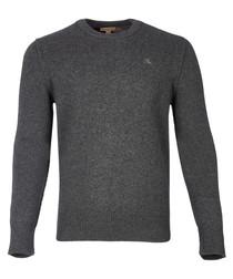 men's curtis grey cashmere jumper