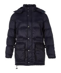 Men's military navy padded jacket