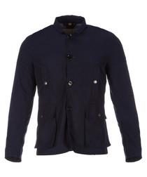 Men's navy pocket jacket