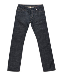 Men's blue cotton jeans